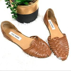"""Steve Madden """"Hillarie"""" huarache leather sandal"""